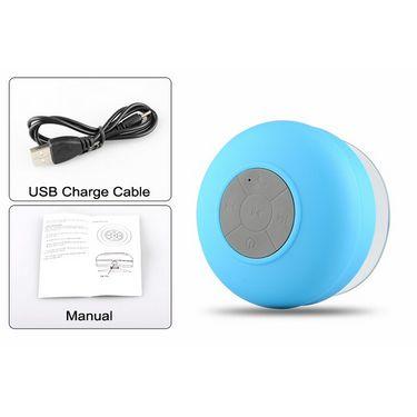 Callmate BTS-06 Bluetooth Shower Speaker - Sky Blue