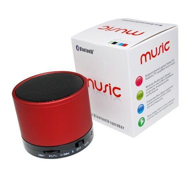 ADCOM S10 Mini Bluetooth Speaker - Red