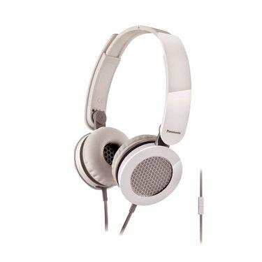 Panasonic RP-HXS200ME-W Stylish Stereo Headphone with Mircophone - White
