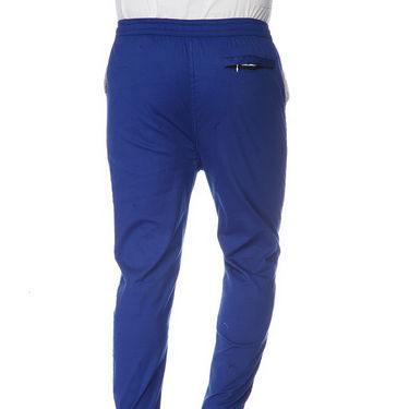 Delhi Seven Cotton Plain Lower For Men_Akdlwr4 - Blue