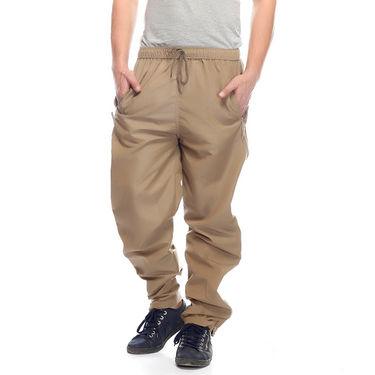 Delhi Seven Cotton Plain Lower For Men_Mupjm006 - Beige