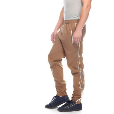 Delhi Seven Cotton Plain Trackpant For Men_Mutpm029 - Brown