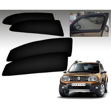 Set of 4 Premium Magnetic Car Sun Shades for RenaultDuster
