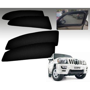 Set of 4 Premium Magnetic Car Sun Shades for MahindraScorpioM-Hawk