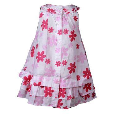 ShopperTree Pink Flower Print 3 piece Set_ST-1408