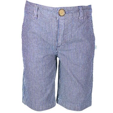 ShopperTree Denim Yarn Dyed Stripe Short_ST-1426