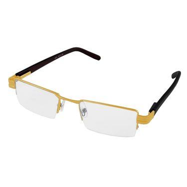 Aoito Plastic Frames Eyeglasses For Men_hgold62 - Black