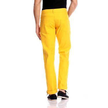Good karma Cotton Chinos_gkj842 - Yellow