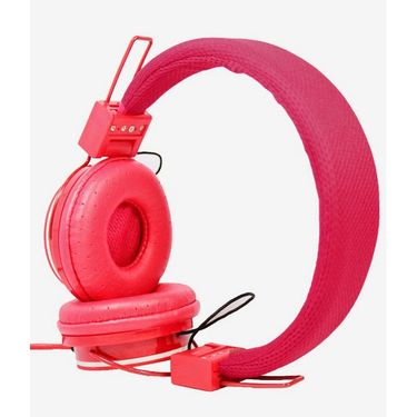 Hitech Xplay Stereo Headphone - Red