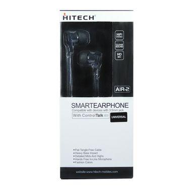 Hitech Air 2 Stereo Earphone - Black