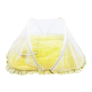 Wonderkids Yellow Baby Small Fur Tent_MW652-YBSFT