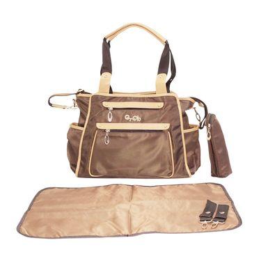 Wonderkids Brown Baby Diaper Bag_BK1242-BBDB
