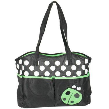 Wonderkids Green Bug Print Baby Diaper Bag_BK-1244-GBDB