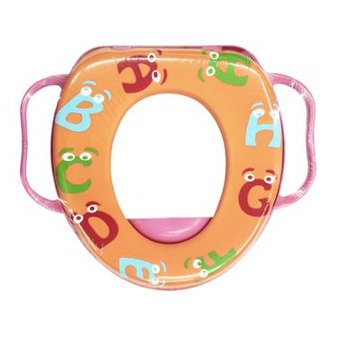 Wonderkids Alphabets Print Baby Cushioned Potty Training Seat With Handle_2205-APCPTS