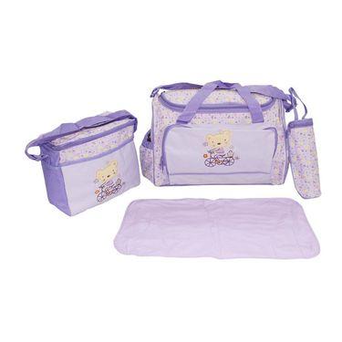 Wonderkids Teddy Print Baby Diaper Bag_CH-009-TPDB