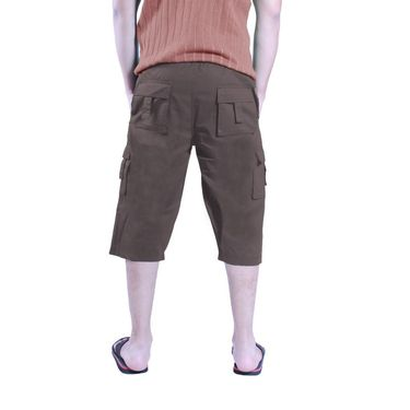 Uber Urban Cotton Shorts_15017brn - Brown