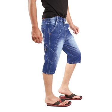 Uber Urban Cotton Shorts_15016dv - Dark Blue