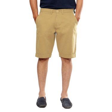 Uber Urban Cotton Shorts_15001kha - Beige