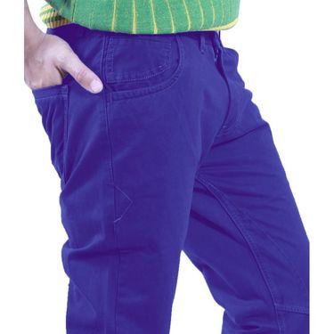 Uber Urban Cotton Trouser_1426nbl - Dark Blue