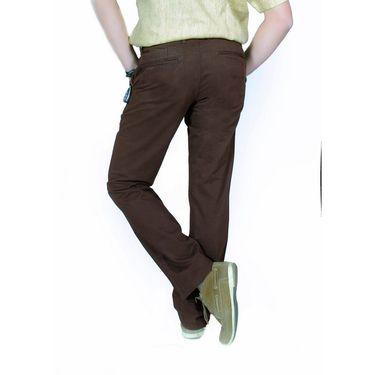 Uber Urban Cotton Trouser_6chinoscad - Brown