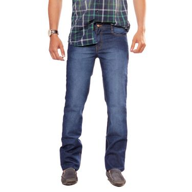 Uber Urban Cotton Jeans_dnp1424raw - Dark Blue