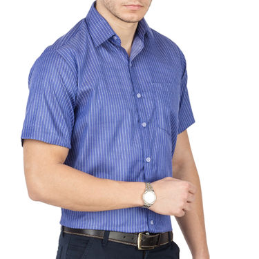 Pack of 3 Copperline Striped Formal Shirt_525354