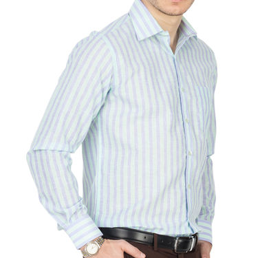 Pack of 3 Copperline Striped Formal Shirt_890203