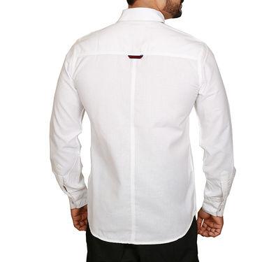 Sparrow Clothings Cotton Shirt_wjc07 - White