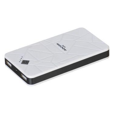 Adcom AP05 7200mAh Power Bank - White & Black