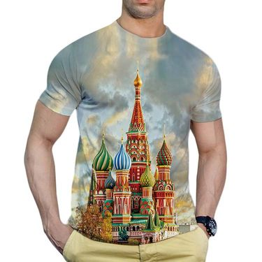 Graphic Printed Tshirt by Effit_Trp0379