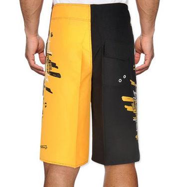Billabong Poly Cotton  Printed Shorts_bysht1 - Yellow