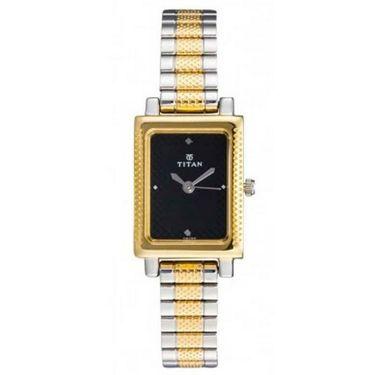 Titan Analog Square Dial Watch_2478bm02 - Black