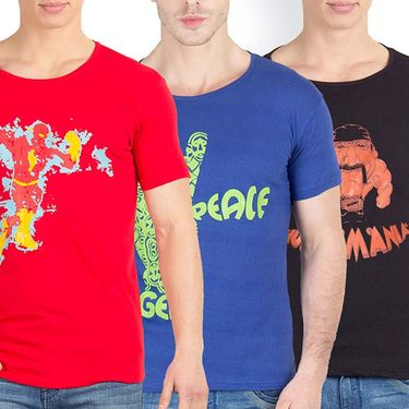 Pack of 3 Incynk Cotton T Shirts_Mhtc431
