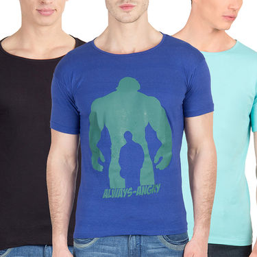Pack of 3 Incynk Cotton T Shirts_Mhtc480