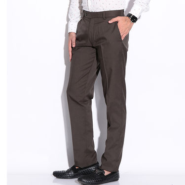 Fizzaro Formal Trouser_Pltrs104 - Dark Brown