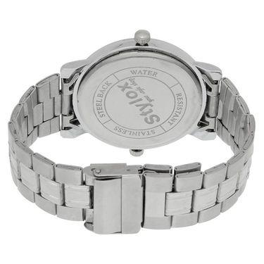 Stylox Round Dial Analog Watch_whstx201 - White