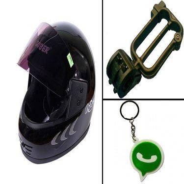Combo of Bike Helmet + Bike Helmet Lock-CD 25615-4