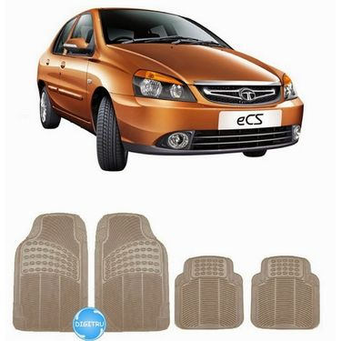 Digitru - Car Rubber Foot Mat eCS (Beige) _ DG20150062