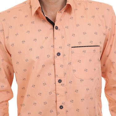 Bendiesel Printed Cotton Shirt_Bdc0103 - Beige