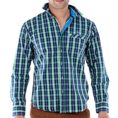 Bendiesel Checks Cotton Shirt_Bdc069 - Multicolor