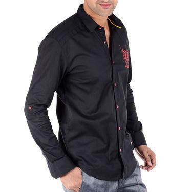 Bendiesel Plain Cotton Shirt_Bdc093 - Black