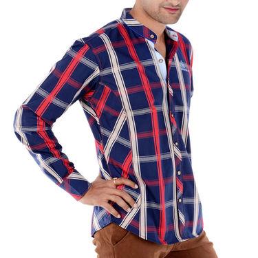 Bendiesel Checks Cotton Shirt_Bdcc011 - Multicolor