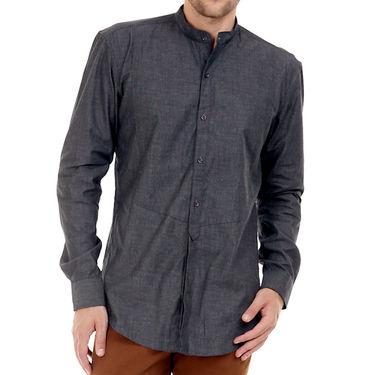 Bendiesel Plain Cotton Shirt_Bdcc022 - Grey