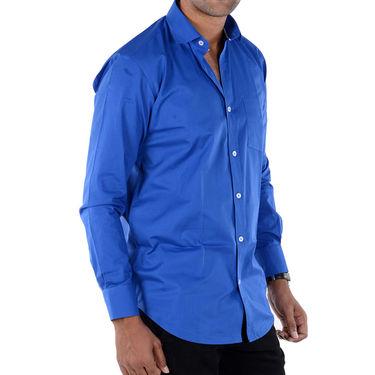 Bendiesel Plain Cotton Shirt_Bdf048 - Royal Blue