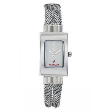 Fastrack Analog Watch_ 2049sm09 - Silver