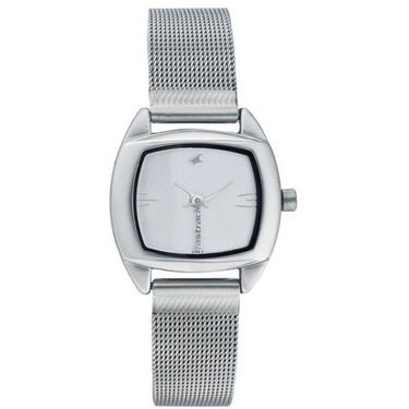 Fastrack Analog Watch_ 6001sm01 - Silver