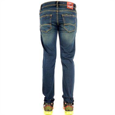 Slim Fit Cotton Jeans_Thgnd - Greenish Blue