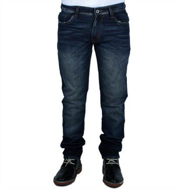 Slim Fit Cotton Jeans_Ckgrb01 - Dark Blue