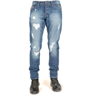 Slim Fit Cotton Jeans_Alblzd - Light Blue