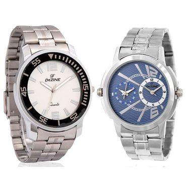 Pack of 2 Dezine Wrist Watch_Combo12
